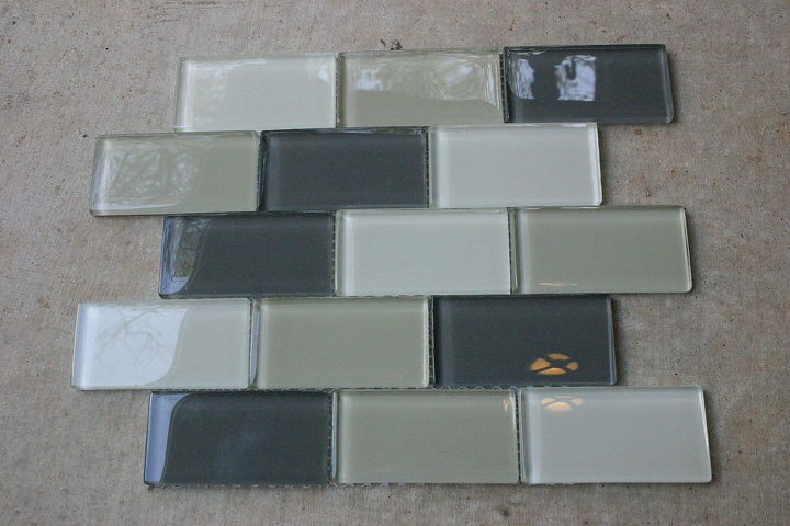 sheets of glass tiles are not very expensive