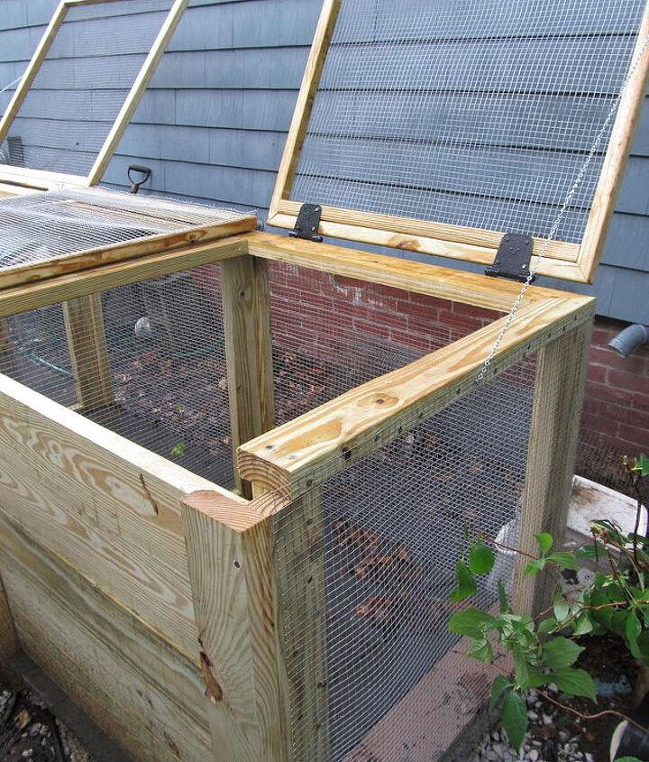 q cadillac of compost bins, gardening