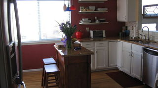 q what is the best paint to use for kitchen oak cabinets, kitchen design, painting, After