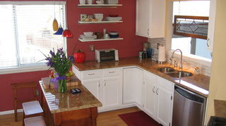 q kitchen cabinets, kitchen design, painting, After