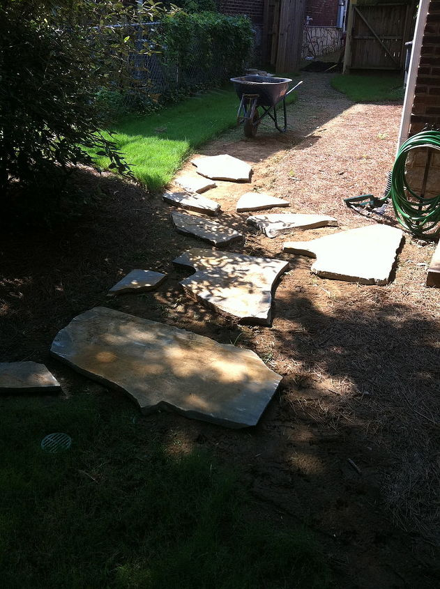 DURING: Side Yard