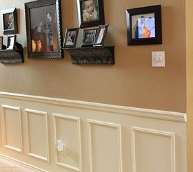 Fake Wainscoting Tutorial, Home Decor, Paint Colors, Painting, Wall Decor,  The