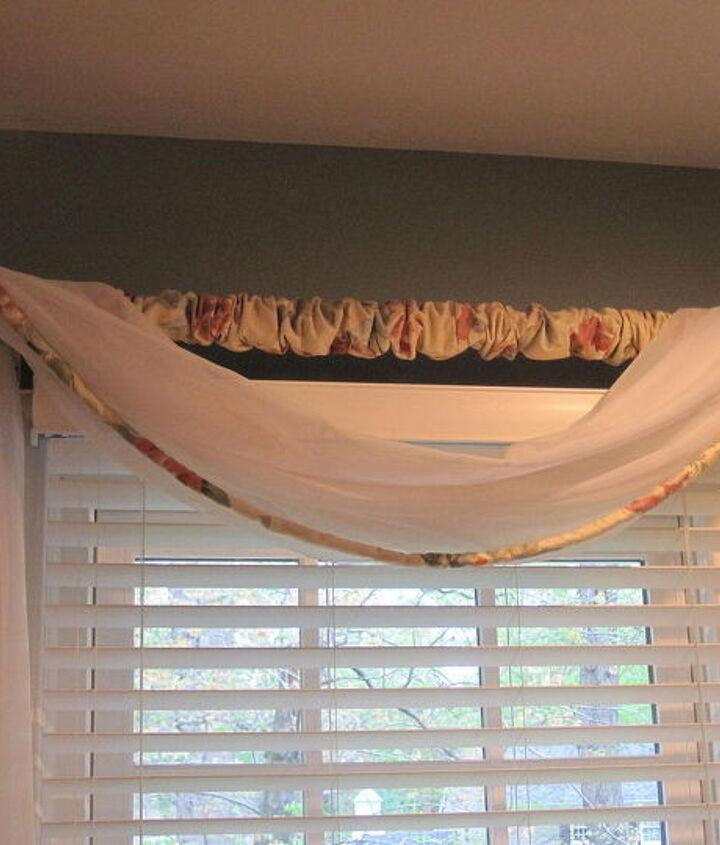simple window treatment to try, home decor, window treatments, windows