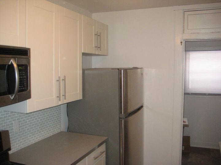 yucky kitchen before and after, home improvement, kitchen design, New Kitchen