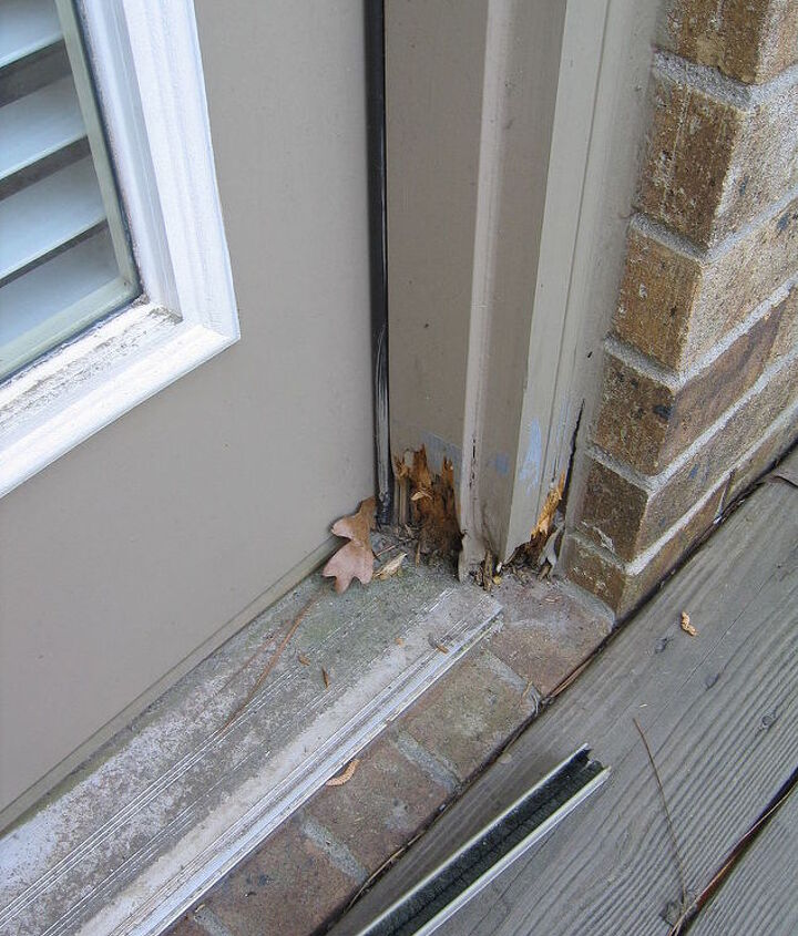 My customer had 6 door jambs that had rot in about the same place and size. These were large double door units and I did not want to remove the unit and replace the complete jamb.