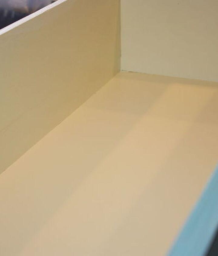 inside the drawer