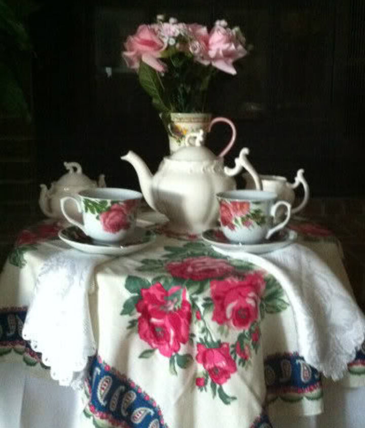 """Mom has been gone 33 years and not a day goes by that I don't """"talk"""" with her.  Today, we met for tea."""