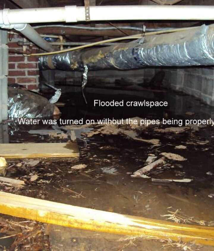 Home  Buyers: Make sure you have the home inspected BEFORE you turn the water on or it could leaad to a NASTY end result and EXPENSIVE clean up!