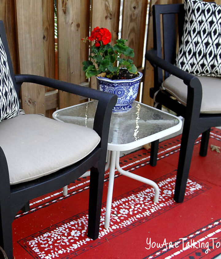 http://www.youaretalkingtoomuch.com/2013/04/painted-outdoor-oriental-rugs/