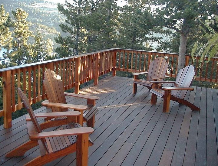 the best decking material ever ipe this is a wood that will last 60 years or, decks, outdoor living, My deck when installed in 1998