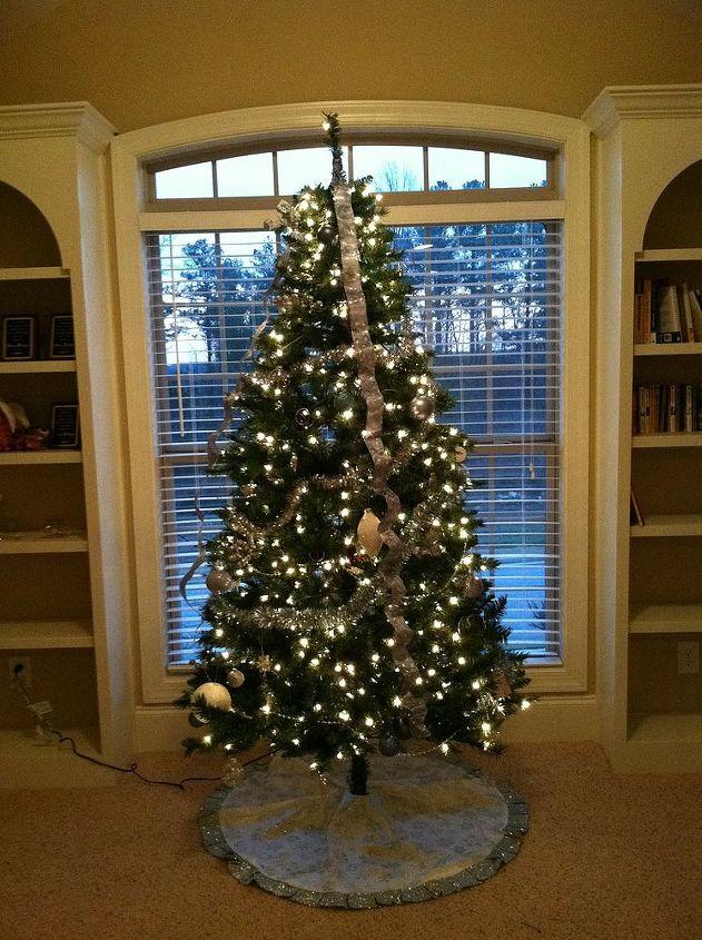 Upstairs Christmas tree number 1
