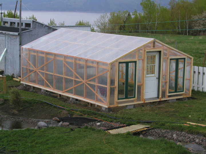 Garden Greenhouse Ideas Greenhouse diy garden greenhouse with recycled windows and poly greenhouse diy garden greenhouse with recovered windows and poly diy flowers gardening workwithnaturefo
