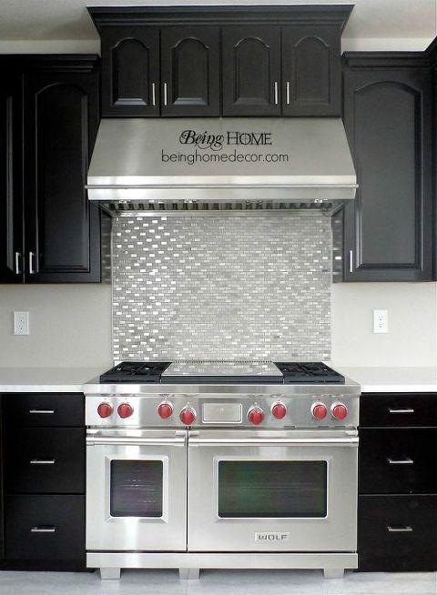 Super Simple Diy Tile Backsplash Home Decor Kitchen Design Tiling