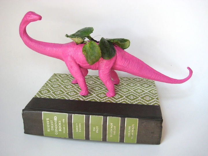 dino planter, home decor