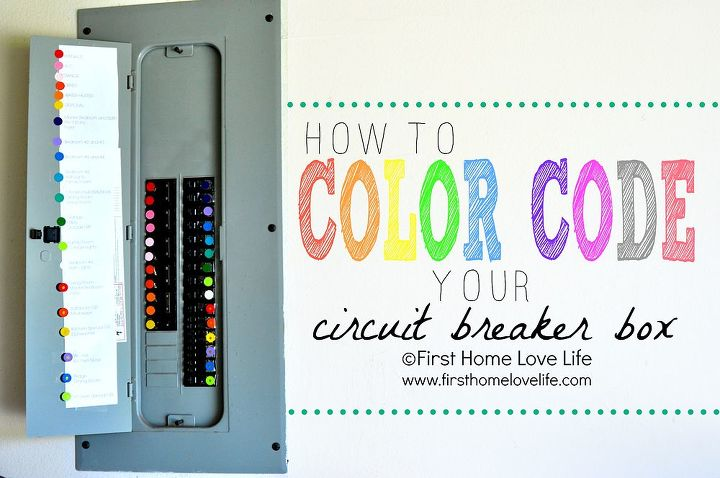 How to Color Code Your Circuit Breaker Box | Hometalk