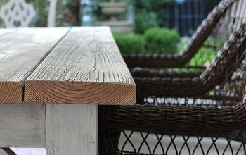 How a Pile of Old Wood Became a Beautiful Rustic Table