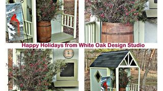 grandkids playhouse, outdoor living, painting, woodworking projects