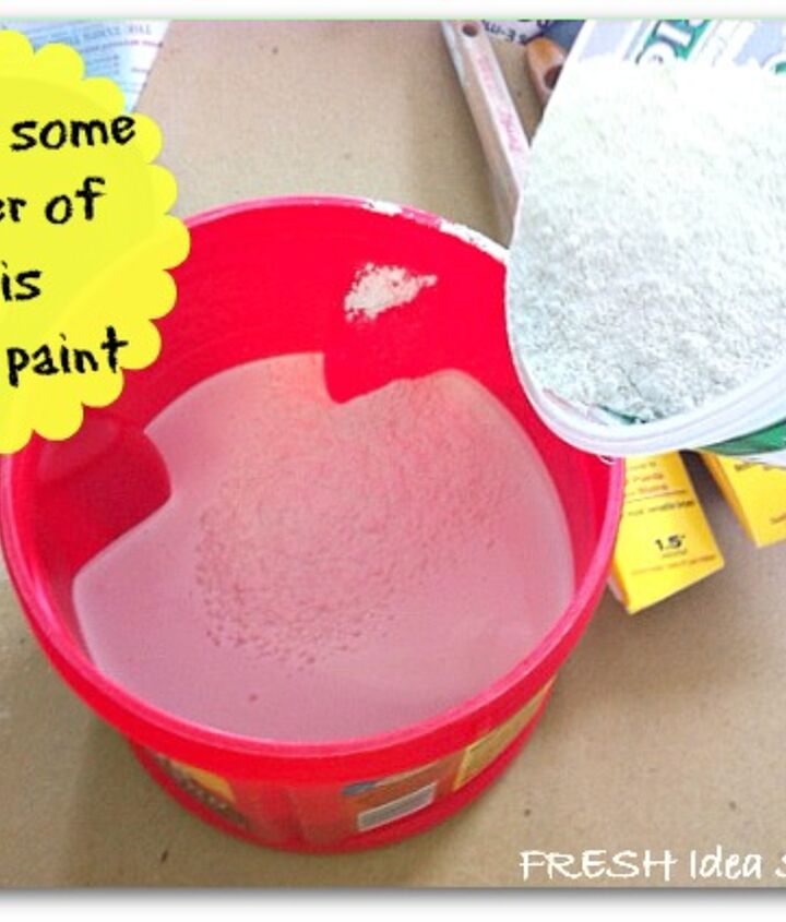 Sprinkle that into your paint