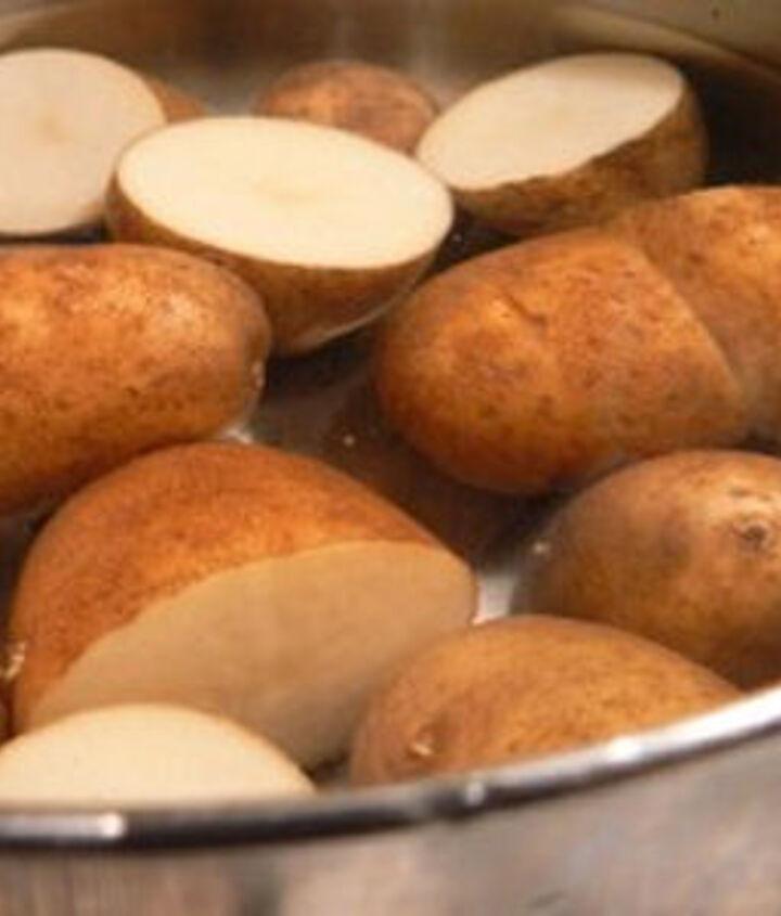 use your left over potato water in the garden, gardening, homesteading