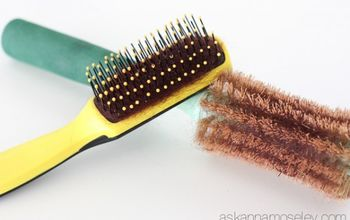 When is the last time you cleaned your hair brush?
