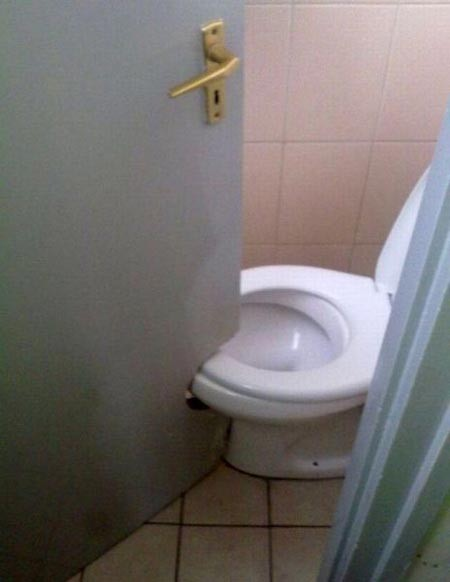 please step away from the tools, bathroom ideas, doors, What were they thinking