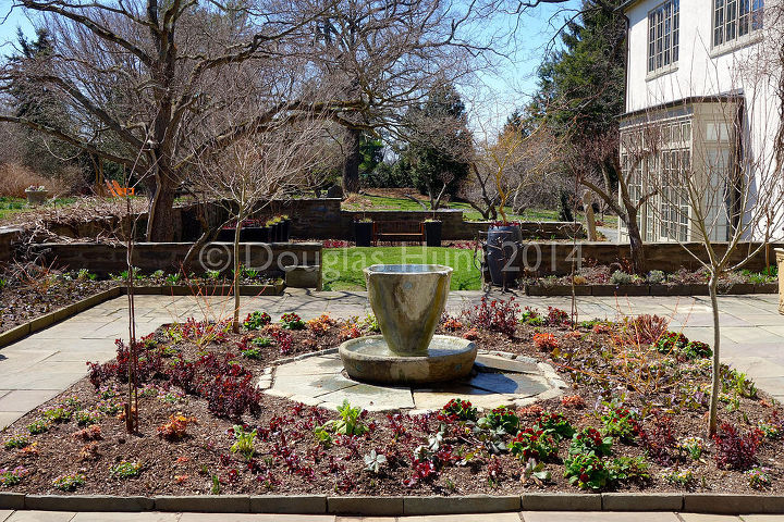 an early spring visit to chanticleer, container gardening, gardening, outdoor living