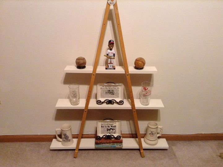 another idea for old crutches, home decor, repurposing upcycling, storage ideas