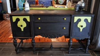 q what do you suggest for this antique sideboard, painted furniture, repurposing upcycling
