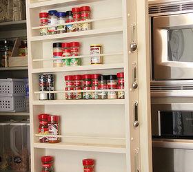 Diy Pantry Door Spice Rack, Cleaning Tips, Closet, Storage Ideas, Pantry  Door