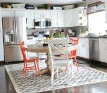 budget friendly modern white kitchen renovation, home decor, home improvement, kitchen design