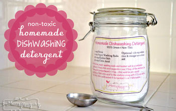Homemade Dishwashing Detergent - Green and Natural