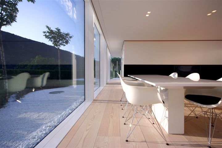 lake lugano house in switzerland by jm architecture, architecture, garages