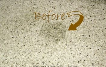 Putting two carpet stain removal tips to a comparison test
