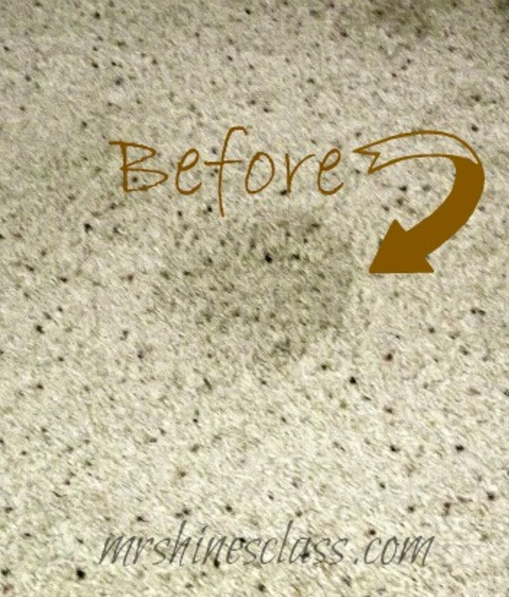 putting two carpet stain removal tips to a comparison test, cleaning tips, flooring, Spots all over the carpet