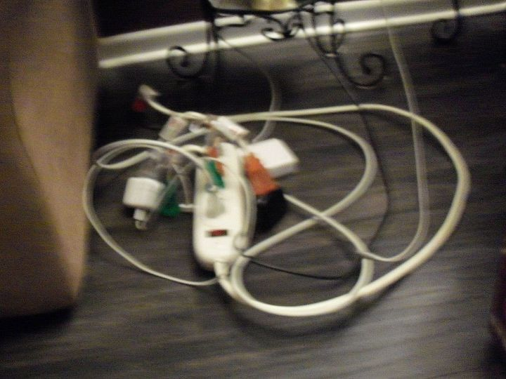 the power cord mess!