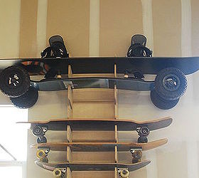 Beau Skateboard Rack For Garage, Diy, Garages, Storage Ideas, Woodworking  Projects