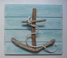 shipwrecked driftwood creations, crafts, driftwood anchor