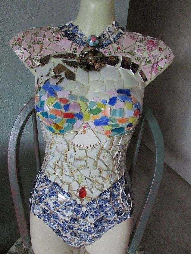 the beginning of my garden lady, crafts, repurposing upcycling