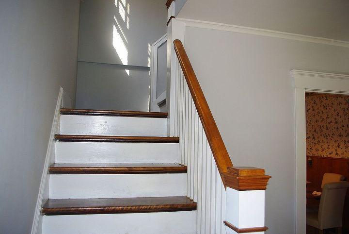 q stair treads risers separated no access to underside, home maintenance repairs, how to, stairs