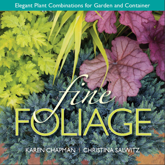 Book Cover For Fine Foliage- Elegant Plant Combinations  for Garden and Container by Karen Chapman and Christina Salwitz