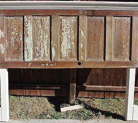 90 year old door made into a king size headboard doors home decor & 90 year old door made into a king size headboard   Hometalk