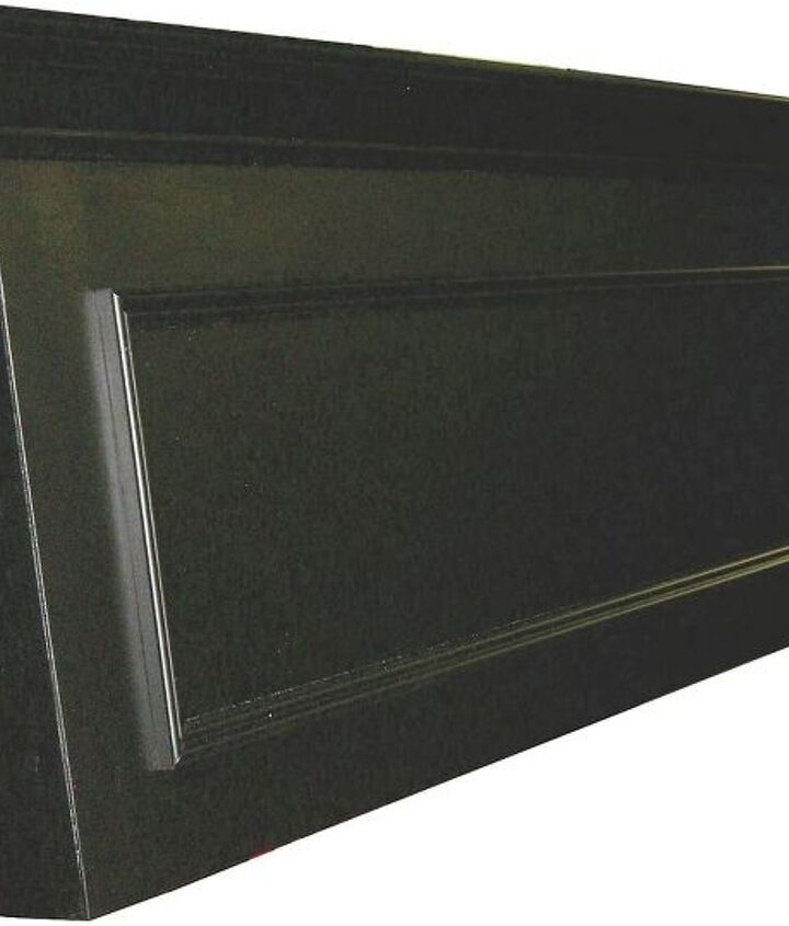 One panel door headboard made to hang on the wall - great for adjustable beds!