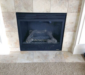 replacing a gas fireplace with a real wood buringing one hometalk