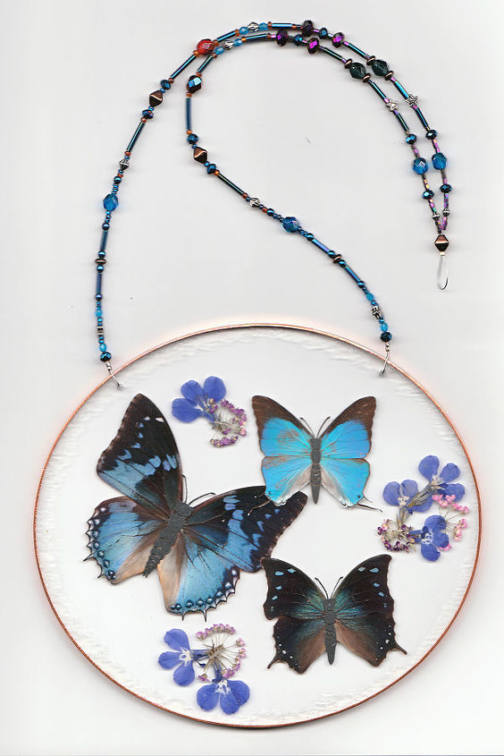 butterfly dancer, crafts, flowers