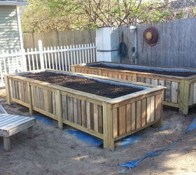 Delightful Raised Bed Gardens From Pallets, Gardening, Pallet, Raised Garden Beds
