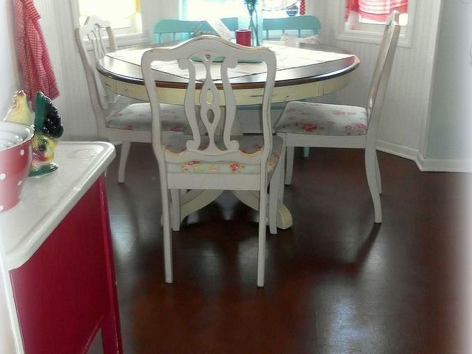 diy painting old laminate floors beforeandafter, diy, flooring, how to, painting, From boring to beautiful