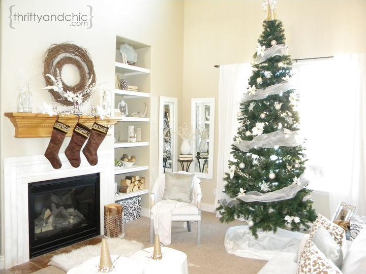 White Christmas -Living Room   Hometalk