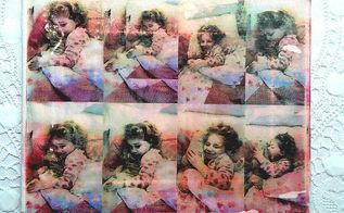 image onto canvas diy, crafts, decoupage, Seal the canvas with a couple of layers of mod podge or varnish