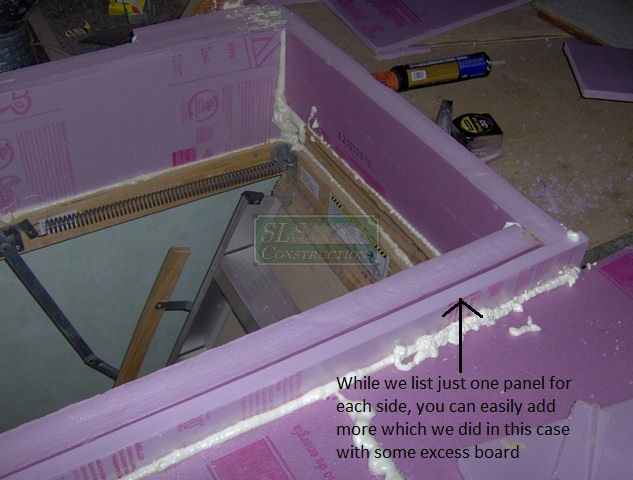 A diy attic hatch option hometalk a diy attic hatch option home maintenance repairs how to doubling up the solutioingenieria Images