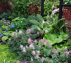 A Garden In The Shade, Container Gardening, Flowers, Gardening, Landscape,  Outdoor